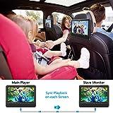 WONNIE 9.5 Car Dual Portable DVD