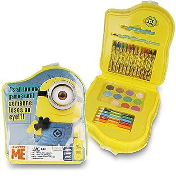 Malset für Kinder ab 3 Jahren Minions zum Malen und Schreiben ...
