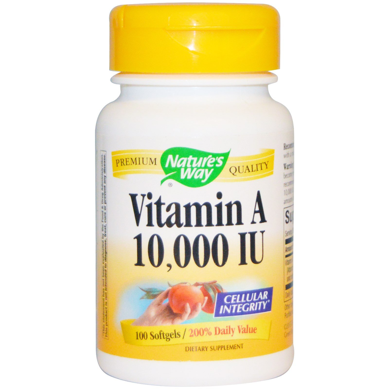 Vitamin A 10000IU 100 Softgels ( pack of 8)