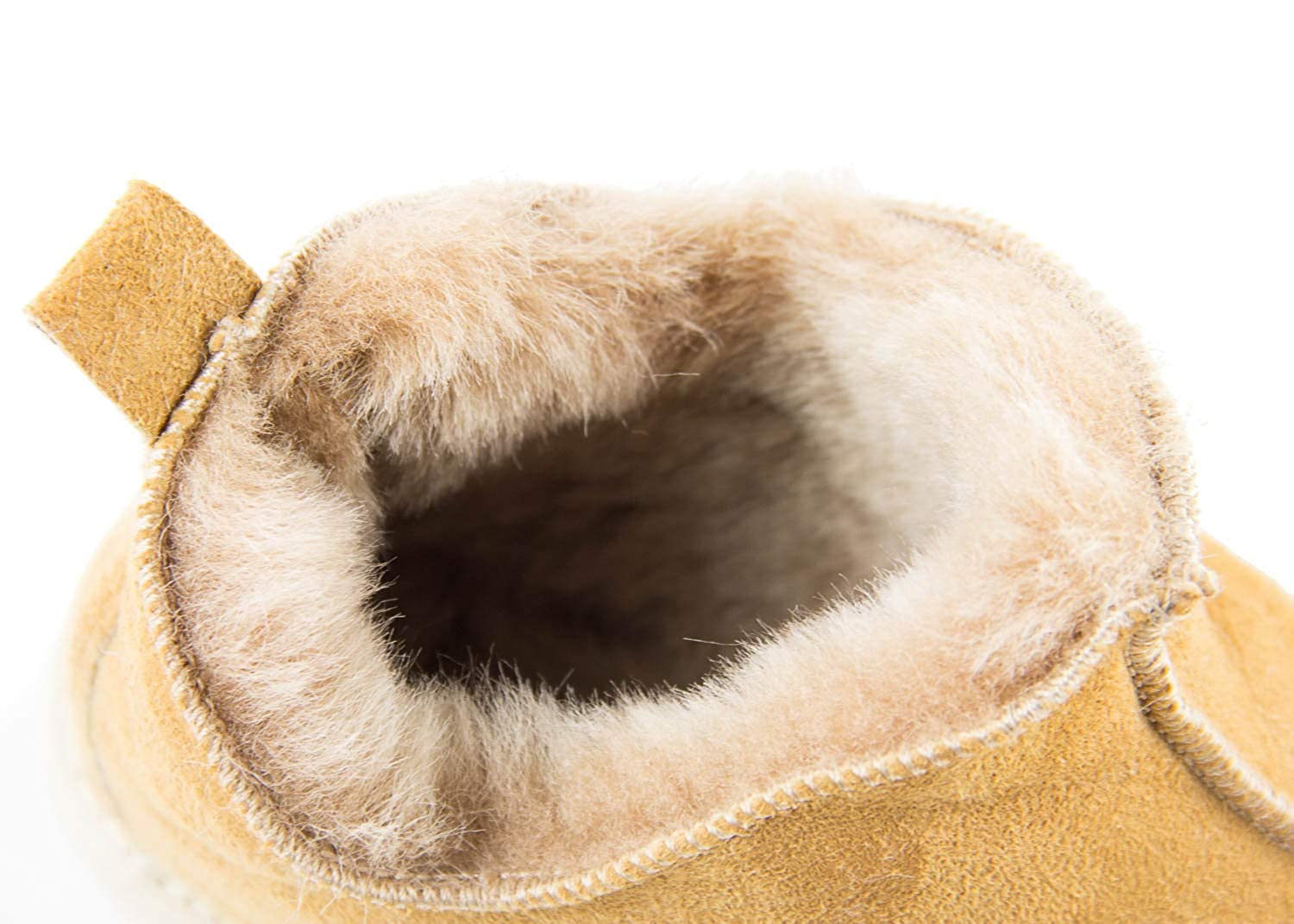 da2fc9e2376 Yeti & Sons Hand Crafted Luxury Men's 100% Sheepskin Lined Ankle Hardsole  Boot Slippers