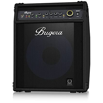 "BUGERA BXD15A 1000-Watt 2-Channel Bass Amplifier with 15"" Turbosound Aluminum-"
