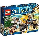 LEGO Legends Of Chima - Playthèmes - 70002 - Jeu de Construction - Le Monster Truck de Lennox