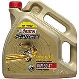 Castrol Power 1 4t 20w50 formule améliorée 4l. (ancien ACT EVO)
