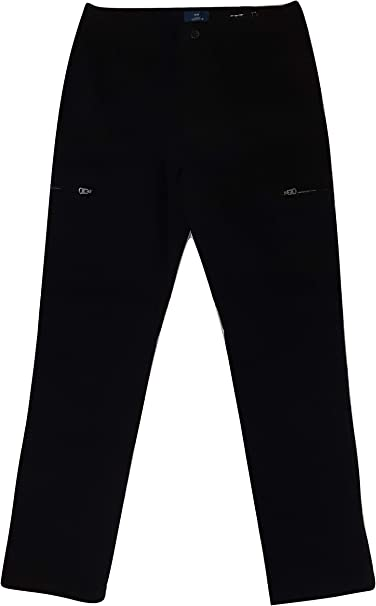 George Black Soot Slim Straight Stretch Casual Chino Pant