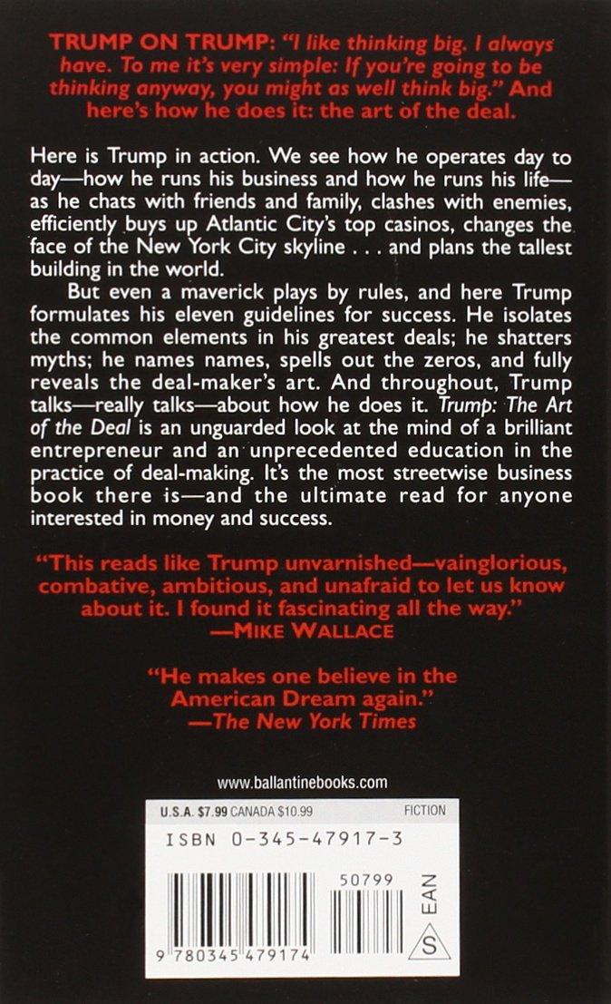 Trump the art of the deal livros na amazon brasil 9780345479174 fandeluxe Choice Image