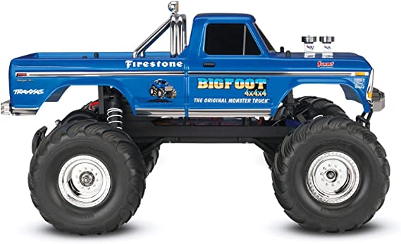 TRAXXAS - TRX36034-1 -BIGFOOT NO. 1- 4x2 - 1/10 BRUSHED TQ ...