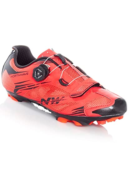 Northwave Man MTB XC Shoes Scorpius 2 Plus Lobster Orange/Black