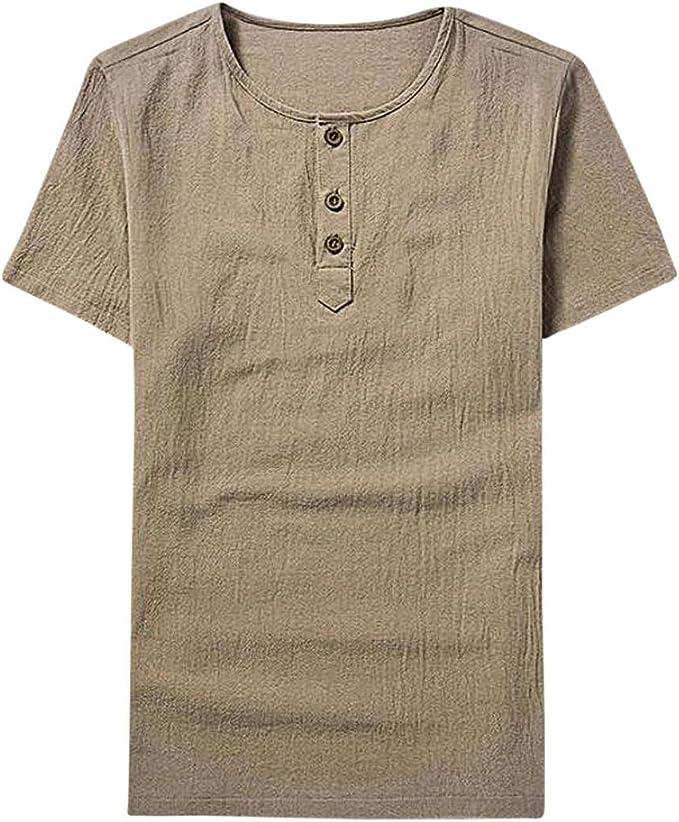 FAMILIZO Camisetas Manga Corta Hombre Moda Camisetas Hombre Tallas Grandes Camisetas Hombre Sport Camisetas Hombre Algodón Camisetas Hombre Verano Camisetas Hombre Largas Tops: Amazon.es: Ropa y accesorios