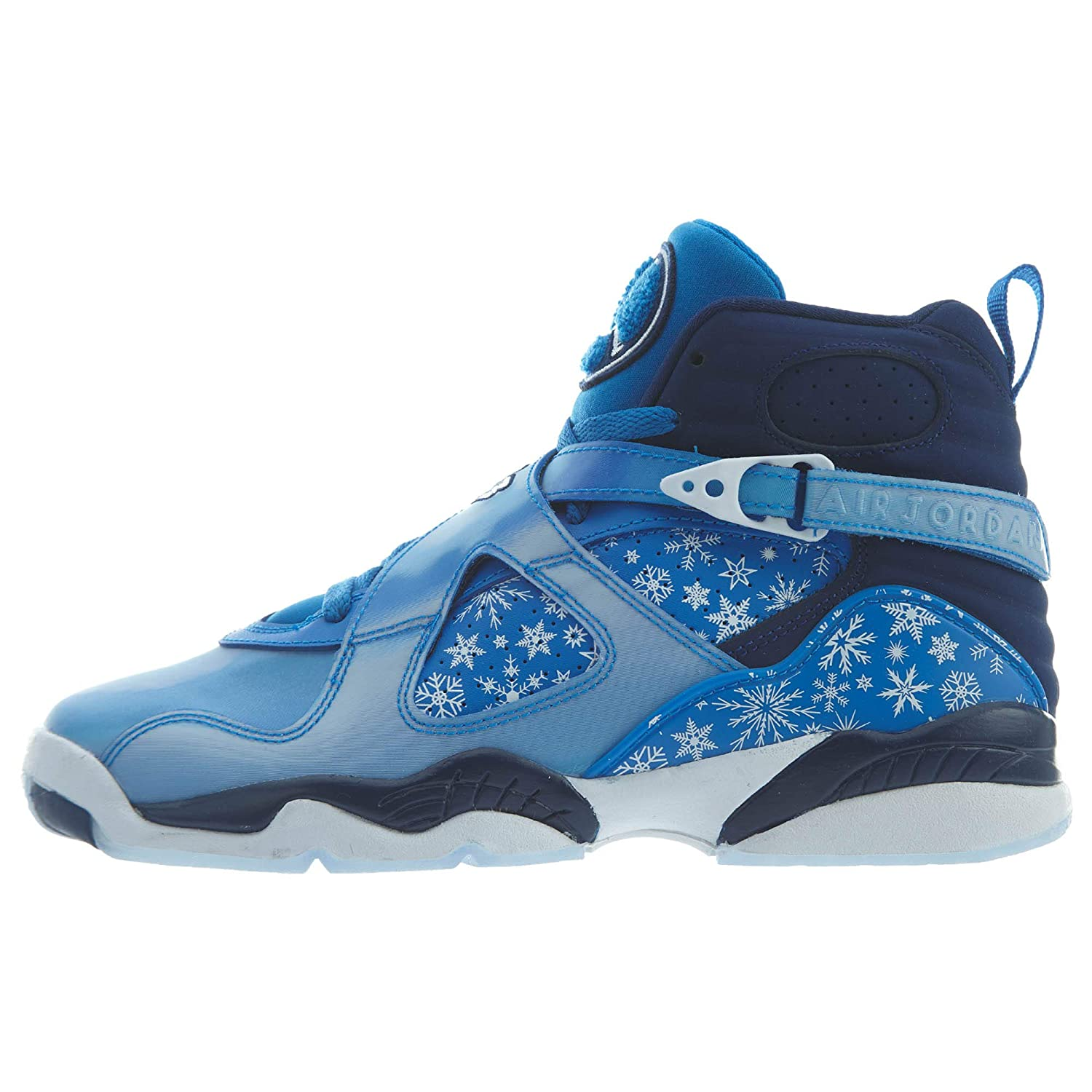 separation shoes d1262 90784 Nike Air Jordan 8 Retro Big Kid's Shoe Cobalt Blaze/Blue/Void/White  305368-400 (4.5 M US)