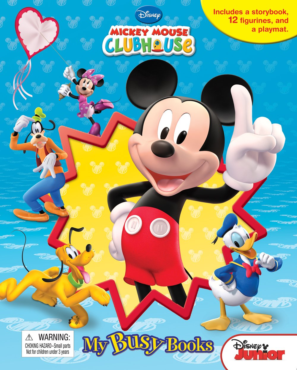 Mickey Mouse Clubhouse: Mouseka Fun! My Busy Books: Phidal Publishing Inc.:  9782764315071: Amazon.com: Books