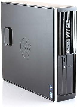 HP Elite 8300 - Ordenador de sobremesa (Intel Core i7-3770, 8GB de RAM, Disco SSD 480GB, Windows 10 Pro ES 64) - Negro (Reacondicionado)