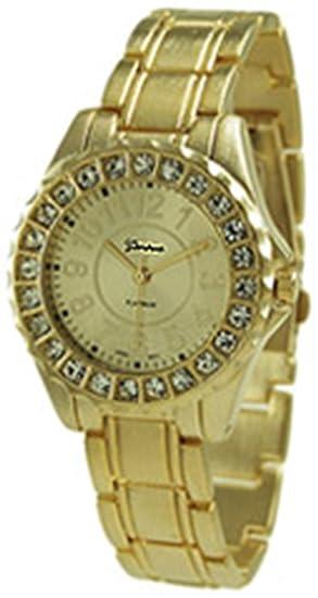 Geneva Platinum 6945.Gold Mujeres Relojes