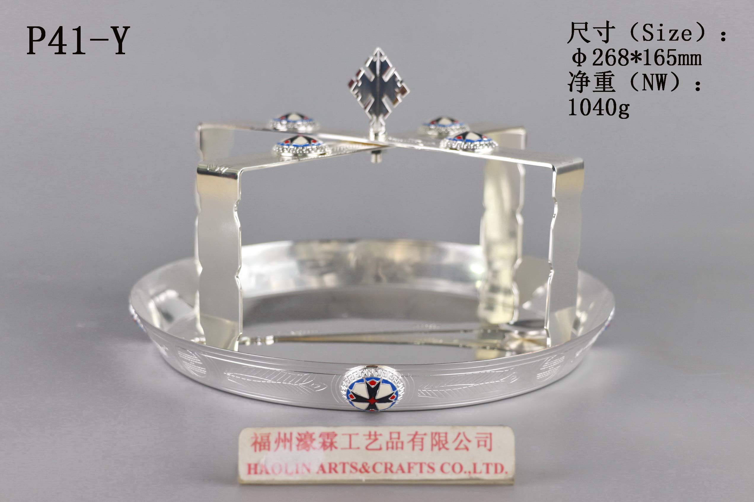 Brass Plate Altar Religion P41-Y Our Company Have 101 Kinds of Chalice and Plate for Your Choice.
