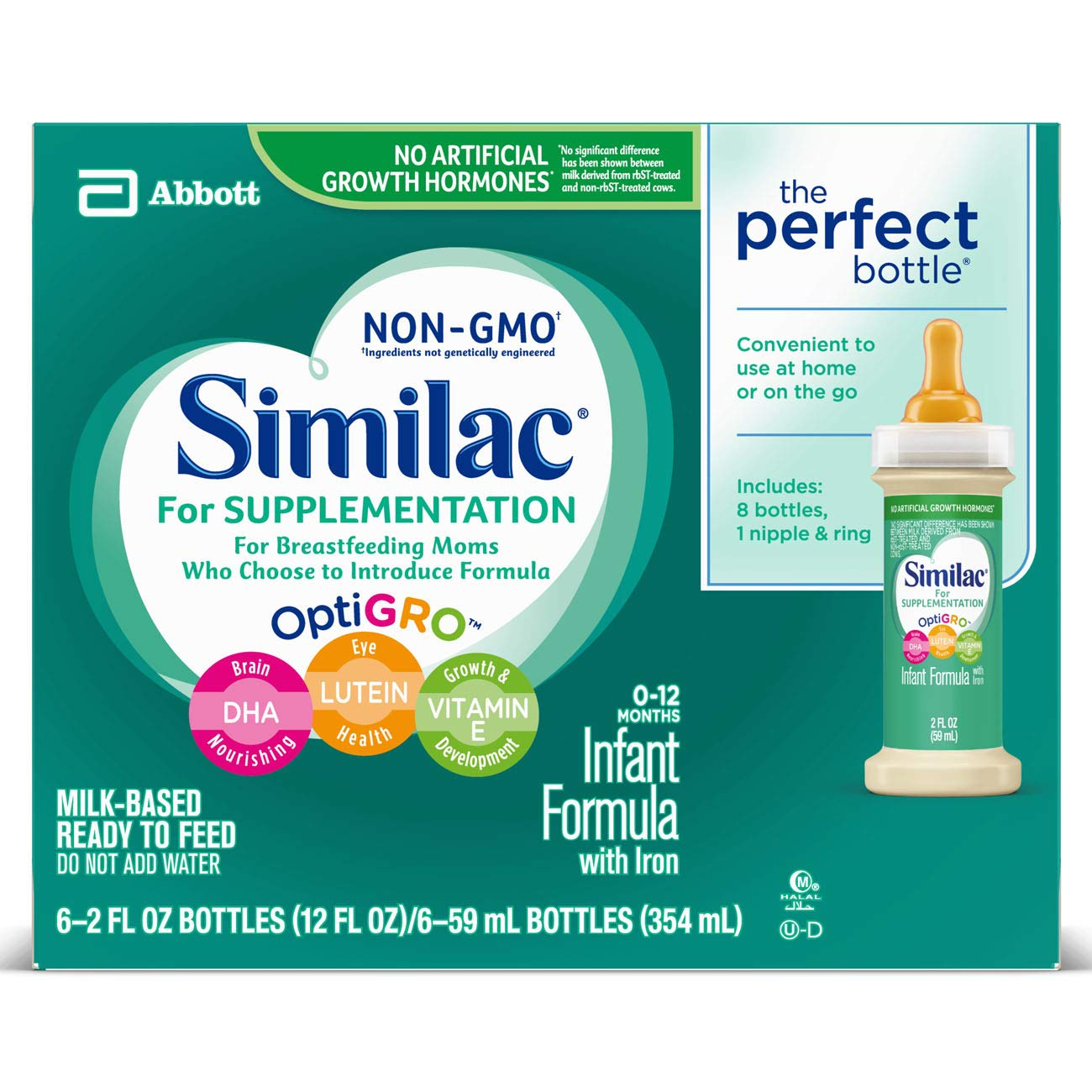 Amazon.com: Similac For Supplementation Non-GMO Infant
