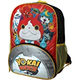 Yo-Kai Watch Jibanyan Power 16 inch Backpack with Side Mesh Pockets