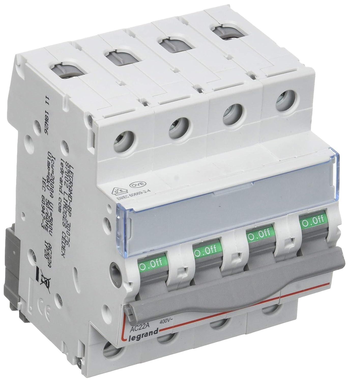 Legrand LEG92800 Module de raccordement 1 peigne dalimentation pour disjoncteur phase neutre 1 module