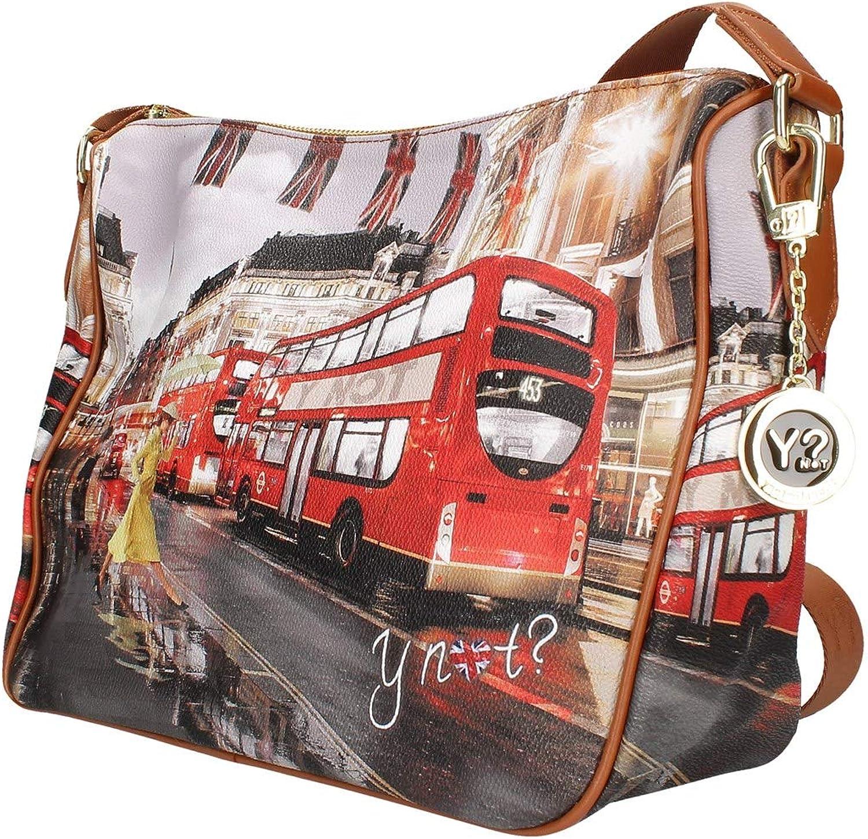11 YNOT Shoulder Bag YES-370F0 TAN-LONDON 30 25 Cm