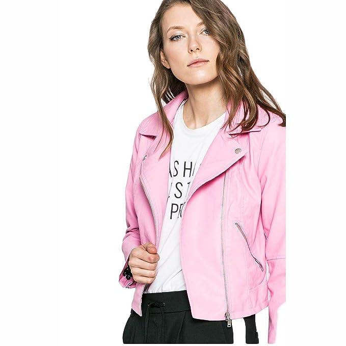 Only Chaqueta New Summer Rosa: Amazon.es: Ropa y accesorios