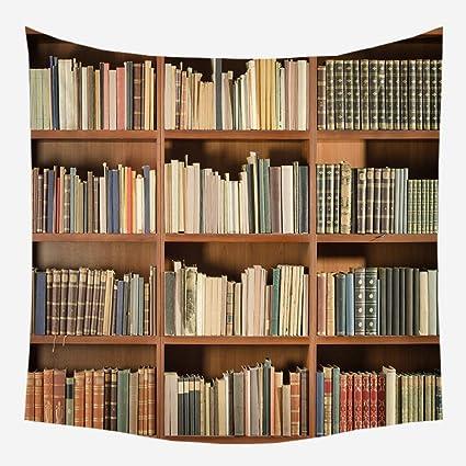 xkjymx Nueva Biblioteca de Arte Retro estantería Dormitorio ...