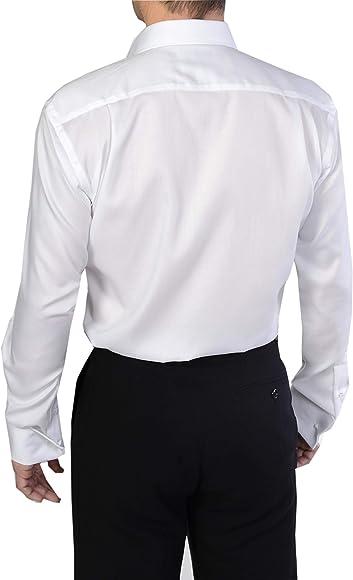 Paradigm - Camisa formal - para hombre blanco blanco: Amazon.es: Ropa y accesorios