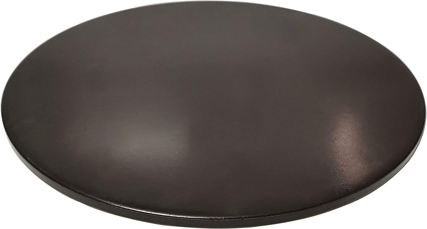 "Wondjiont 13"" Black Ceramic Pizza Stone, Baking Stones for Oven, Grill & BBQ"
