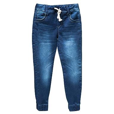 OFFCORSS Boys Joggers Cotton Sweatpants Kids Pantalonetas para Niños Blue 4 7ae96f3933f2