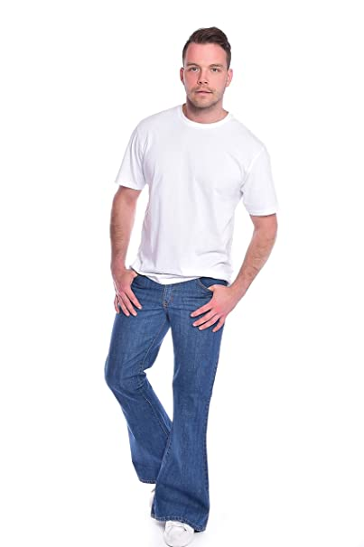 Amazon.com: Run & Fly - Pantalones vaqueros para hombre ...