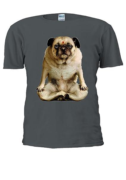 Yoga Dogs Funny Gym Pug Tumblr Novelty Men Women Unisex Top T Shirt