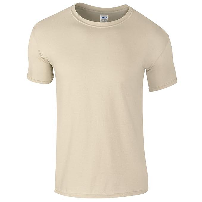 Gildan - Camiseta básica de manga corta Unisex Estilosa Suave Niños Niñas - Verano/Calor