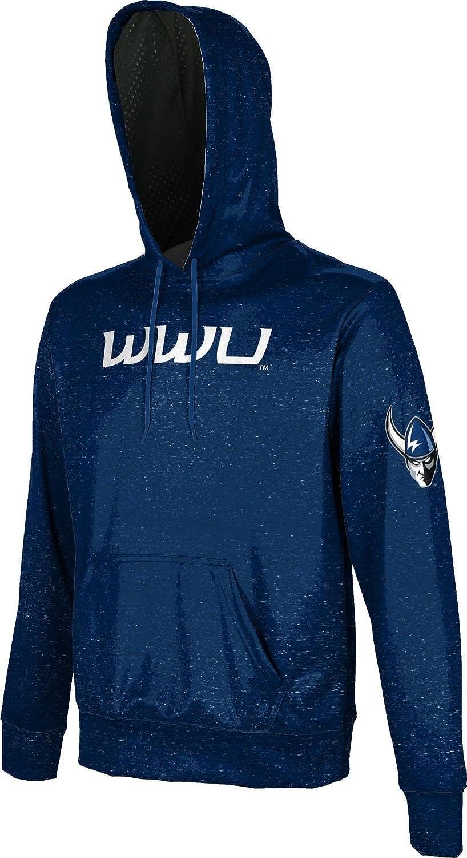 School Spirit Sweatshirt ProSphere Western Washington University Girls Pullover Hoodie Heather