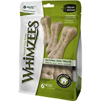 Whimzees Natural Dog Treat, Rice Bone, 9 -Pieces
