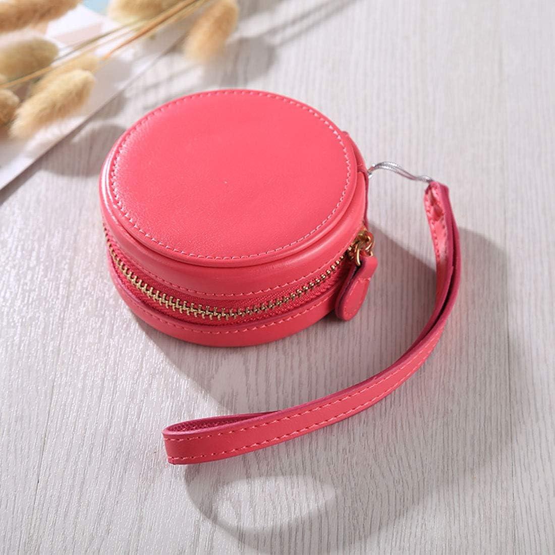 Color : Magenta MEETBM ZIMO,Full Body Camera Zipper PU Leather Case Bag with Hand Strap for Casio TR-M10 TRM Mini Black