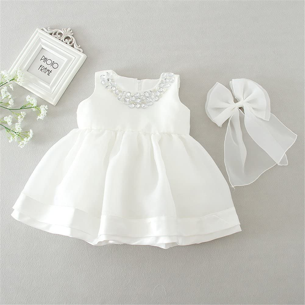 Coozy Baby Girl Dress Christening Baptism Gowns Flower Girl Special Occasion Dress