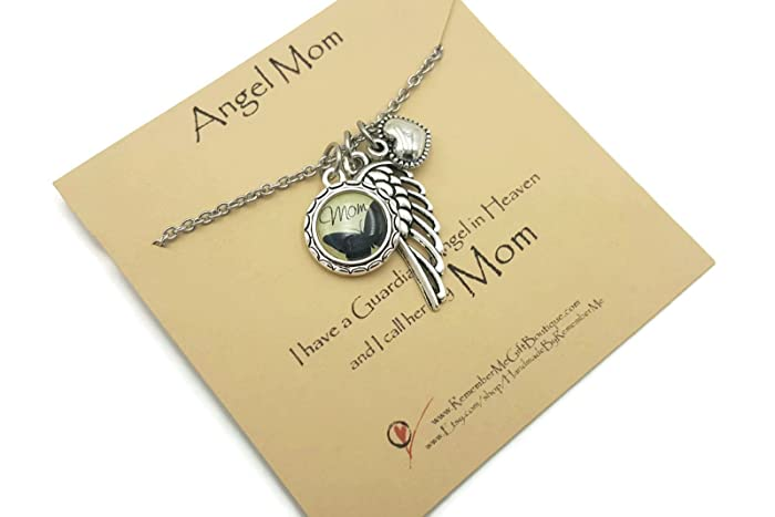 amazon com sympathy gift loss of mom necklace mother charm
