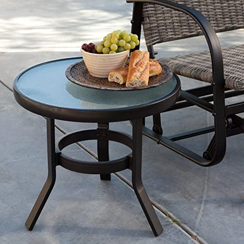 Coral Coast Del Rey 20 in. Patio Side Table