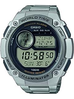 Casio Reloj Digital para Hombre de Cuarzo con Correa en Acero Inoxidable CPA-100D-