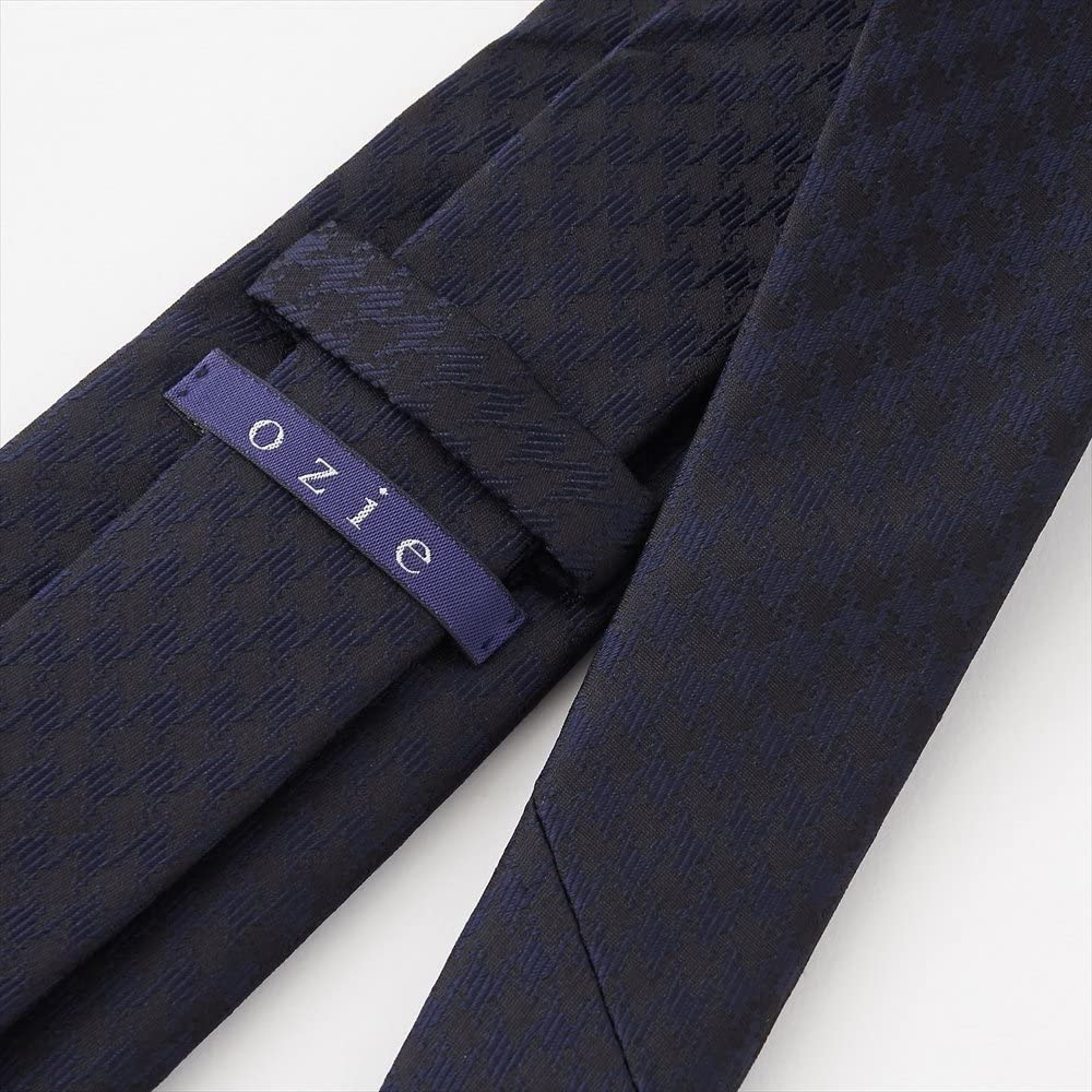 Made in Japan,Black Plain Tie, Sette Piega Ozie