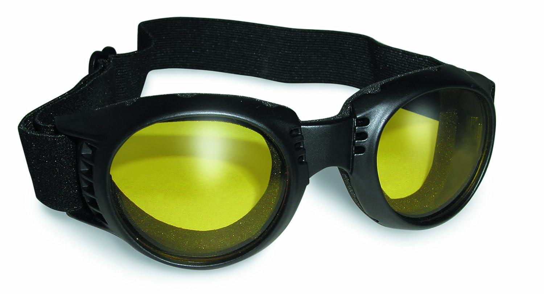 Amazon.com: Paragon Motorcycle Goggles Yellow Tinted Lenses, Frames ...
