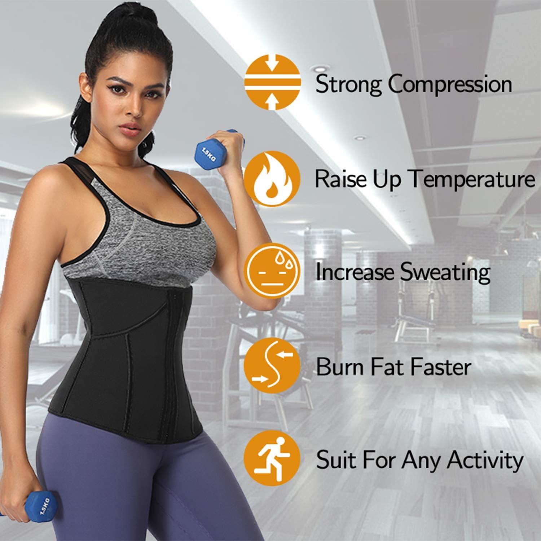 Workout Sport Waistband Underbust Tummy Control Shapewear MISS MOLY Waist Trainer Corset Latex Waist Cinchers