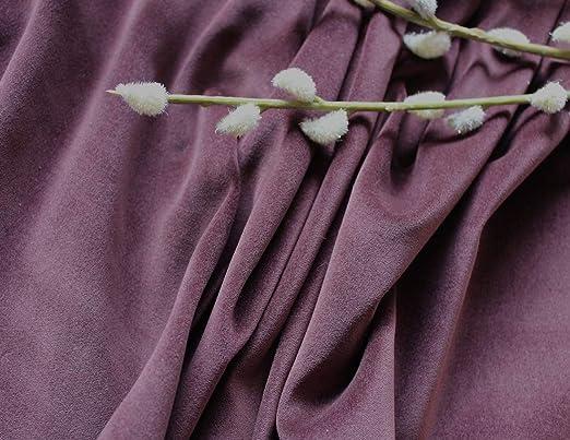 Ralston Fabrics Tela de Terciopelo de algodón marrón de un Metro ...