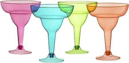 Amazon.com: Vasos de plástico Margarita 36 unidades ...