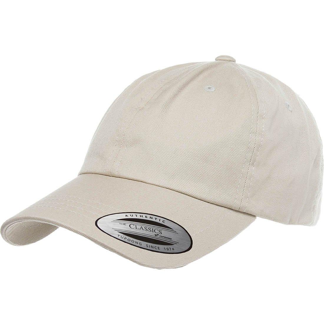 Flexfit Yupoong 6245CM Low Profile Cotton Twill Dad Cap