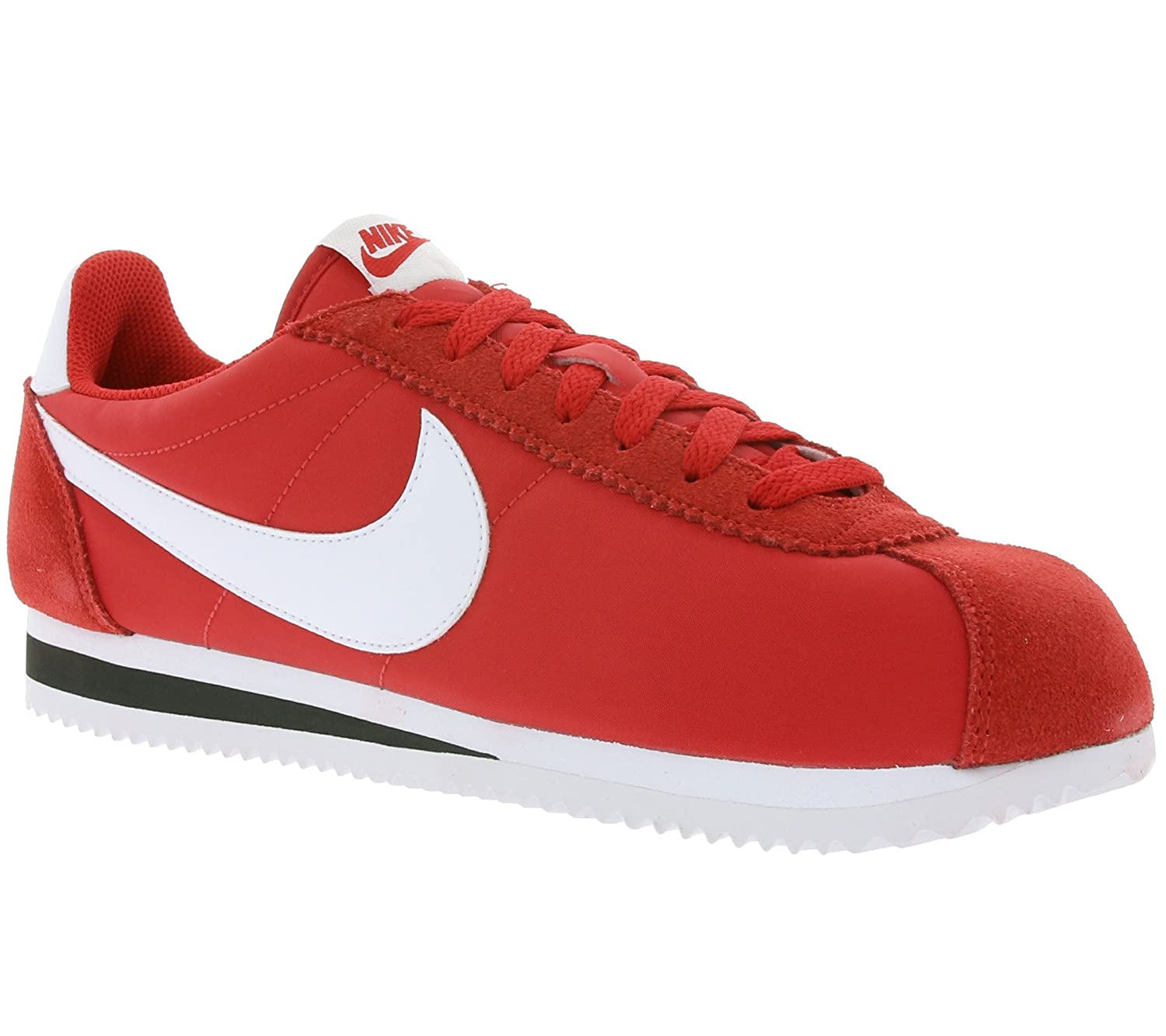 the best attitude 59bd5 1449a NIKE Classic Cortez Nylon Men s Sneaker Red 807472 600  Amazon.co.uk  Shoes    Bags