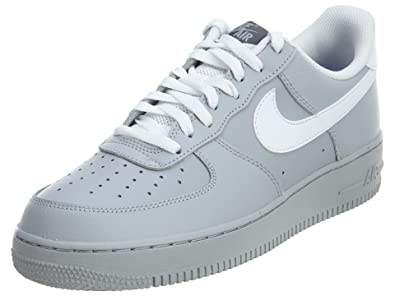 online store 23cdc d0716 Image Unavailable. Image not available for. Color  Nike Mens Air Force Low 1  Basketball Shoe Wolf Grey Dark ...