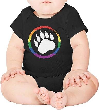 Colorado Flag Dog Paw Dog Unisex Toddler Baby 2-Piece Short-Sleeve Bodysuit Baby T-Shirt Set
