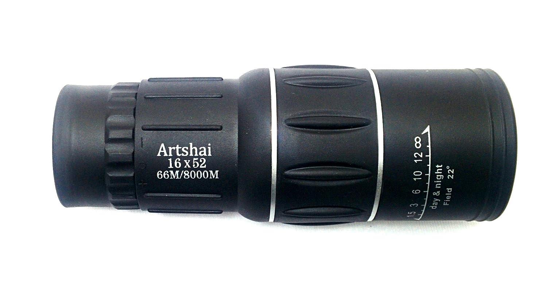 Buy artshai big eyepiece professional dual focus monocular