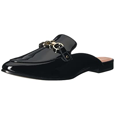 Kate Spade New York Women's Cece Too Moccasin, Black Patent, 9 M US: Shoes