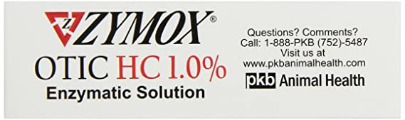 Amazon.com : Zymox Otic Tratamiento del oído con hidrocortisona ...