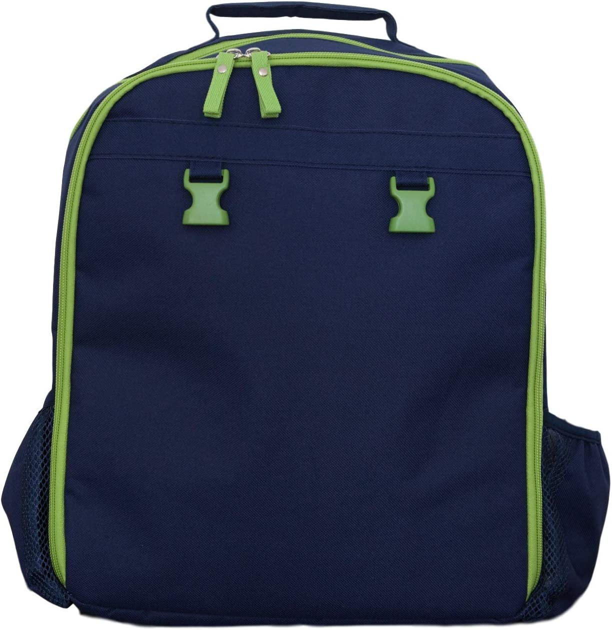 Embroidered Backpack for your Kids 12 x 6 x 15 Navy Personalized Backpack for Grade School or Preschool Boys and Girls