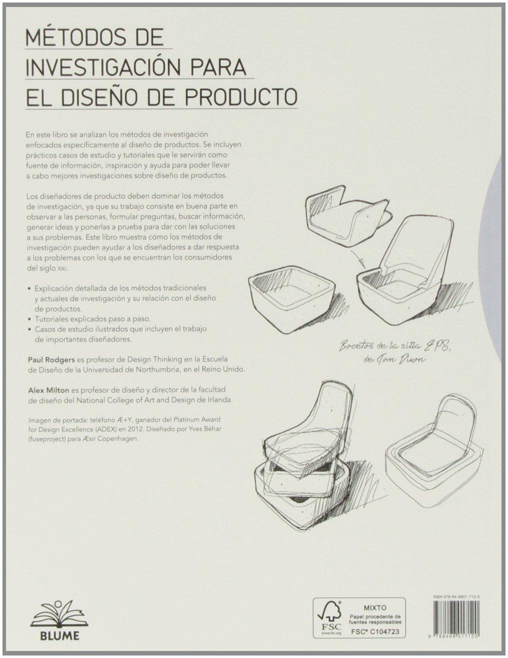 Métodos de investigación para el diseño de producto: ALEX ...